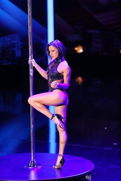 Sheila Nicolodi beim Supertalent 2013 - Foto: (c) RTL / Stefan Gregorowius