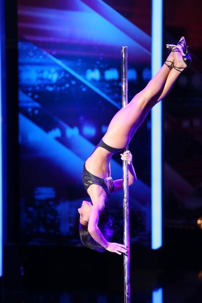 Supertalent 2013 - Sheila Nicolodi am 9.11.2013 - Foto:(c) RTL / Stefan Gregorowius