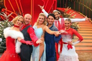 Finalisten von Let's dance - Let's chistmas am 21. Dezember 2013 - Foto: (c) RTL / Stefan Gregorowius
