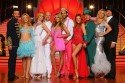 Lets dance - Lets christmas - Teilnehmer der RTL-Tanz-Show am 20.-21.12.2013 (Namen am Ende des Textes) - Foto: (c) RTL / Stefan Gregorowius