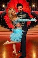 Susan Sideropoulos und Stefano Terrazzino bei Let's dance - Let's christmas - Foto: (c) RTL / Stefan Gregorowius