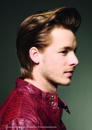 aktuelle Rockabilly - Frisur für Männer 2014