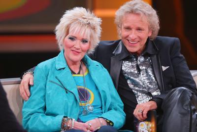 Gaby Köster mit Thomas Gottschalk - Foto: (c) RTL / Stefan Gregorowius