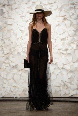 Transparenz bei Kaviar Gauche - Fashion Week Berlin Januar 2014 - 08