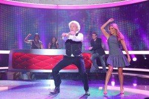 Thomas Gottschalk tanzt mit Sylvie Meis - Foto: (c) RTL / Stefan Gregorowius