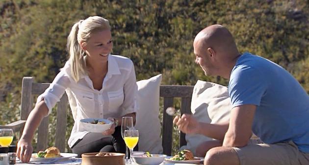 Bachelor 2014 - Katja und Christian beim Einzel-Date in der 3.Folge Bachelor am 5.2.2014 - Foto: (c) RTL