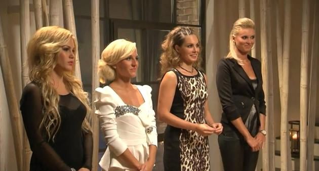 Bachelor Sendung am 26.2.2014 - Wer bekommt eine Rose von Christian? Angelina, Susi, Daniela, Katja? - Foto: (c) RTL