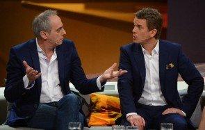 """Christian Rach mit Markus Lanz bei """"Wetten, dass..? - Foto: (c) ZDF, Sascha Baumann"""