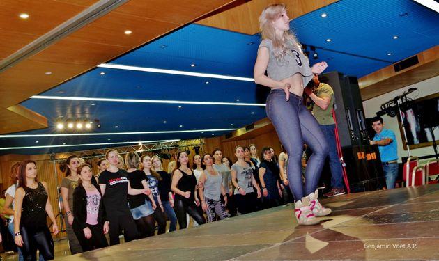 Sara Lopez beim Workshop Ladystyling in Lissabon - Foto: (c) Benjamin Voet