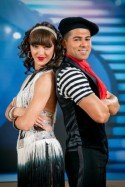 Favoriten bei den Dancing Stars 2014? Morteza Tavakoli - Julia Burghardt - Foto: (c) ORF - Hans Leitner