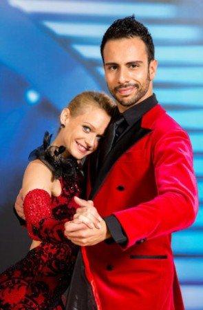 Dancing Stars 2014 - Ausgeschieden am 9. Mai 2014 Melanie Binder - Danilo Campisi - Foto: (c) ORF - Hans Leitner