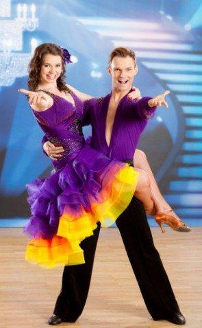 Dancing Stars 2014 Gewinner Roxanne Rapp - Vadim Garbuzov - Foto: (c) ORF - Günther Pichlkostner