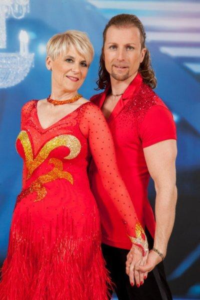 Dancing Stars 2014 - ausgeschieden am 2. Mai 2014 Lisbeth Bischoff - Gerhard Egger - Foto: (c) ORF – Hans Leitner
