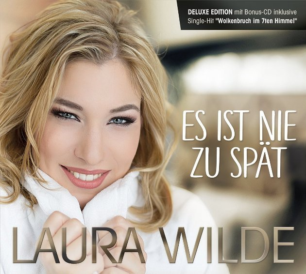 Laura Wilde neues Album 'Es ist nie zu spät' 2018
