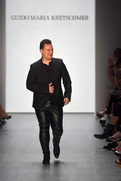 Guido Maria Kretschmer Mercedes Benz Fashion Week Juli 2014