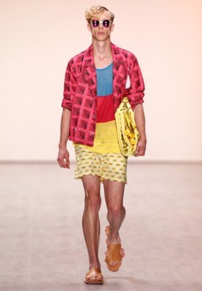 Julian Zigleri Männermode Frühjahr - Sommer 2015 MB Fashion Week Berlin Juli 2014 - 5