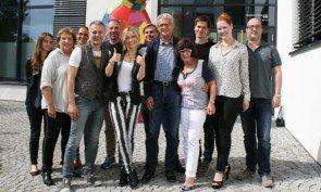 Linda Hesse mit Team und Partnern - Foto: (c) ELECTROLA - Nennungen am Ende des Artikels