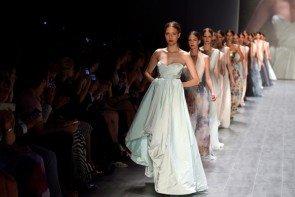 Minx by Eva Lutz Abenkleider MB Fashion Week Juli 2014