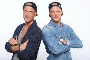 Erik und Dominik Heikaus bei Rising Star 2014 - Foto: © RTL / Stefan Gregorowius