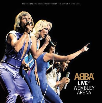 ABBA Album Live at Wembley