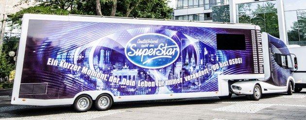 DSDS-Truck auf Casting-Tour - Foto: (c) RTL