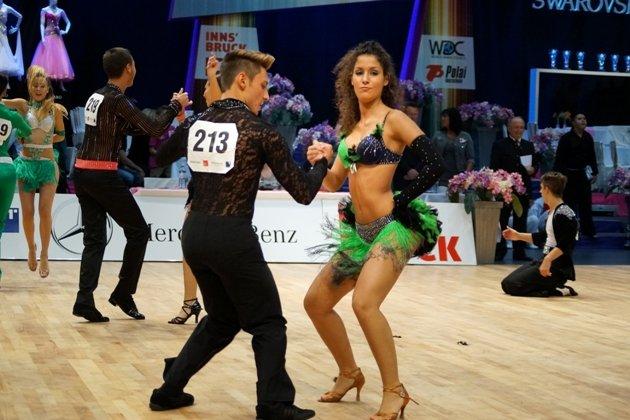 Alex Marole - Francesca Sanfilippi - Salsa Turnier beim 1. Latino Festival Innsbruck - Foto: (c) Salsango - Karsten Heimberger