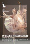 Ballett Dresden Preselection Prix de Lausanne 24.-26.10.2014 - Quellenangaben am Ende des Textes
