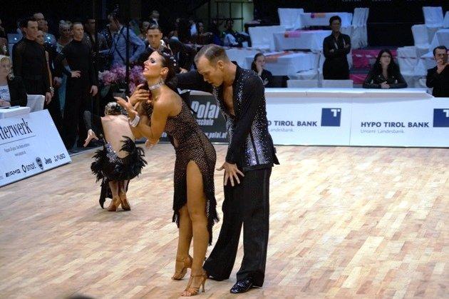 Cyrill Passerat – Lucie Jeanne - WM 10 Tänze 2014 - Foto: (c) Karsten Heimberger
