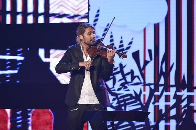 David Garrett ZDF 18.10.2014 Gala zum 80. Geburstag Udo Jürgens - Foto: (c) ZDF und Dominik Beckmann