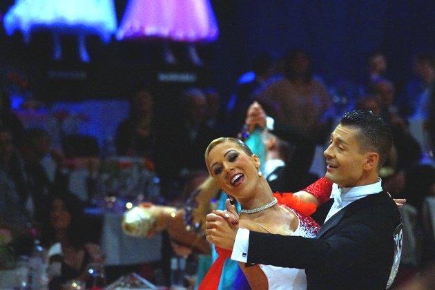 Florian Gschaider - Manuela Stöckl WM 10 Tänze 2014 - Foto: (c) Salsango – Karsten Heimberger
