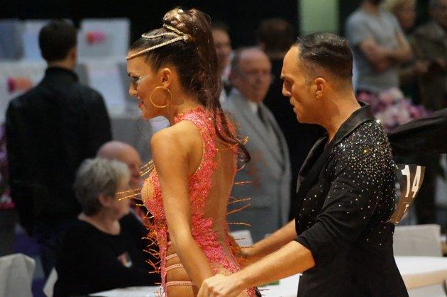 Giuseppe Albanese – Sandy Lezza - WM 10 Tänze 2014 - Foto: (c) Karsten Heimberger