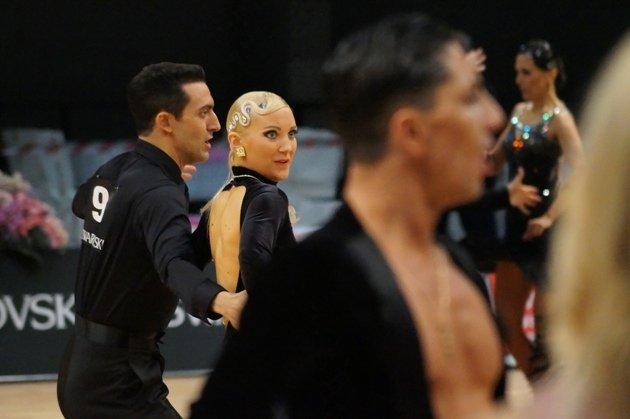 Jonatan Rodriguez Perez – Jenny Singh-Müller - WM 10 Tänze 2014 - Foto: (c) Salsango - Karsten Heimberger