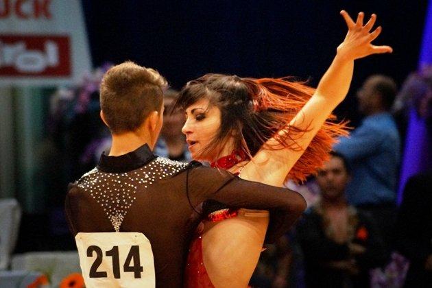 Loris Maroli - Maria Pollice - Salsa Turnier beim 1. Latino Festival Innsbruck - Foto: (c) Salsango - Karsten Heimberger