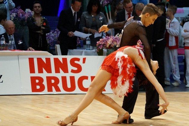 Loris Maroli - Maria Pollice - aus Italien beim 1. Latino Festival Innsbruck - Foto: (c) Salsango - Karsten Heimberger