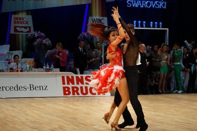 Loris Maroli - Maria Pollice im Salsa Turnier beim 1. Latino Festival Innsbruck - Foto: (c) Salsango - Karsten Heimberger