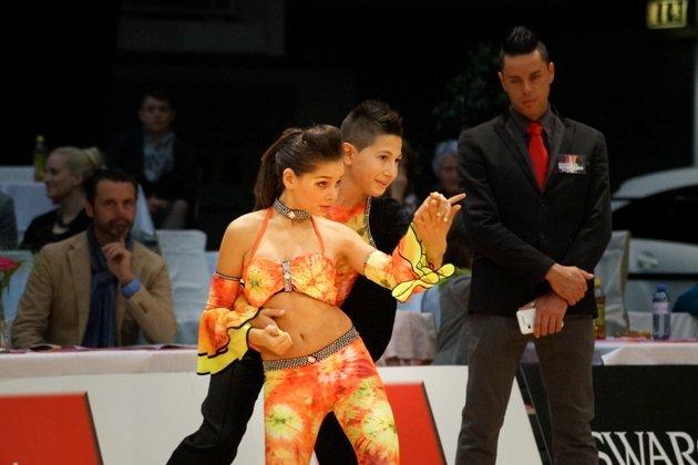 Luca Priotti Benigno - Sara Sitzia aus Italien beim 1. Latino Festival Innsbruck - Foto: (c) Salsango - Karsten Heimberger