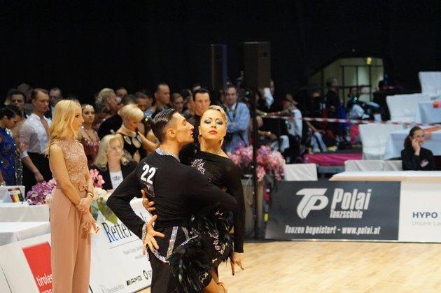 Nikolai Govorov – Evgenia Tolstaya - WM 10 Tänze 2014 - Foto: (c) Salsango - Karsten Heimberger