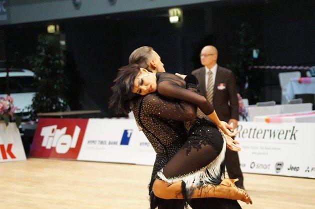 Oleg Kharlamov - Eugenia Casanave - WM 10 Tänze 2014 - Foto: (c) Salsango - Karsten Heimberger