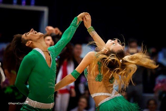 Salsa Tanzpaar Stefano Domanico - Silvia Bragallini beim 1. Latino Festival Innsbruck - Foto: (c) Regina Courtier