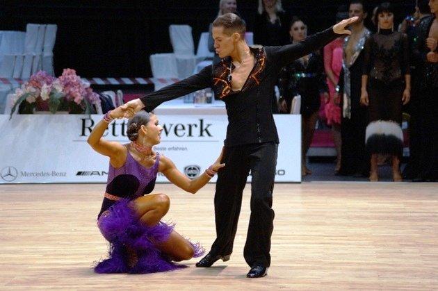 Steffen Zoglauer -Sandra Koperski - WM 10 Tänze 2014 - Foto: (c) Salsango - Karsten Heimberger