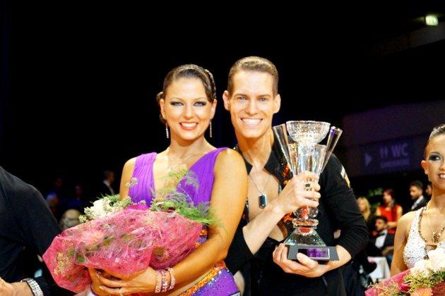 Steffen Zoglauer - Sandra Koperski Weltmeister 10 Tänze 2014 - Foto: (c) Salsango - Karsten Heimberger
