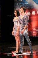 Supertalent 2014 am 10.10.2014 - Julia und Igor - Foto: © RTL/ Stefan Gregorowius