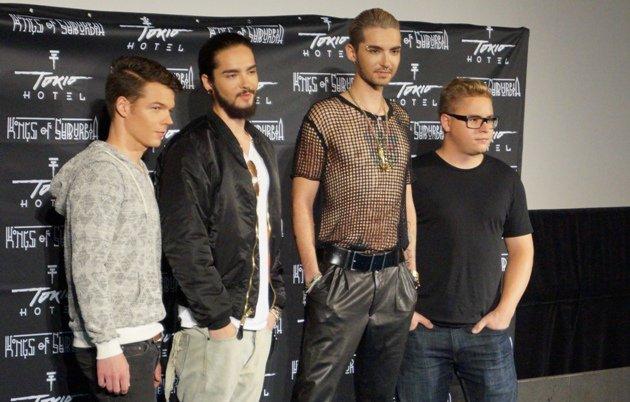 Tokio Hotel präsentiert neue CD Kings of Suburbia
