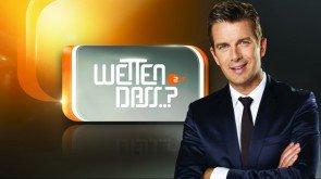"Markus Lanz präsentiert ""Wetten,dass..?"" Gäste am 04. Oktober 2014 – Foto: ZDF – Alexander Babic / Brand New Media"