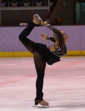 Jennifer Elisabeth Schmidt 2014 - Berliner Meisterschaft 2015 Eiskunstlauf - Foto: (c) Salsango - Karsten Heimberger