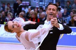 Mirko-Gozzoli - Edita-Danuite - Weltmeister Standard 2014 Profitänzer WDSF - Foto: (c) Salsango / Sven Goldmann