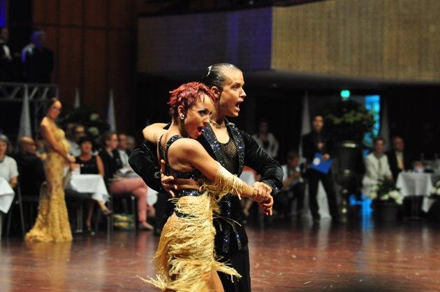 Damir Haluzan - Anna Mashchyts - 6. Platz WM 2014 Latein WDC AL aus Sovenien - Foto: (c) Salsango - Karsten Heimberger