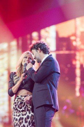 Jonas Kaufmann mit Helene Fischer HFS 25.12.2014 - Foto: (c) ZDF und Sandra Ludewig