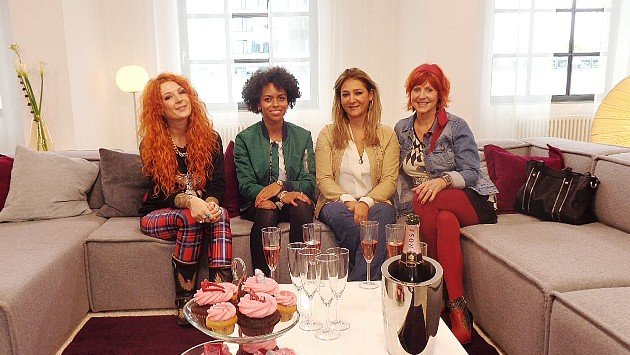 Kandidatinnen Shopping Queen des Jahres 2014 v.l.: Jess, Aimee, Pegah, Rose-Marie - Foto: © VOX - Constantin Entertainment