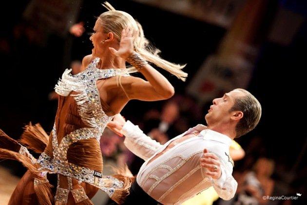 Riccardo Cocchi - Yulia Zagoruychenko Weltmeister 2014 Latein WDC Profi-Tänzer - Foto: (c) Regina Courtier